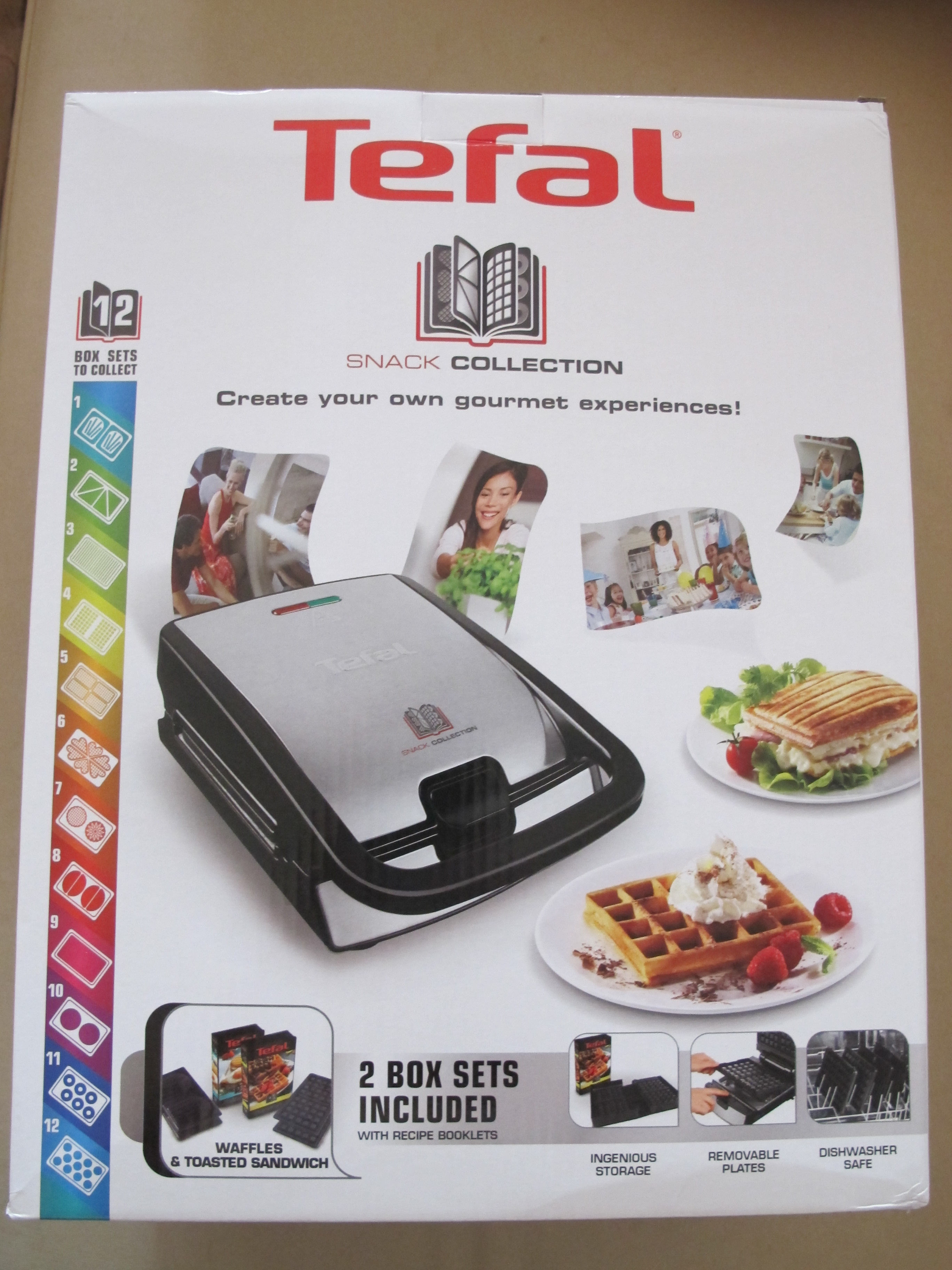 mon gaufrier multifonction tefal snack collection ma beaut acidul e. Black Bedroom Furniture Sets. Home Design Ideas