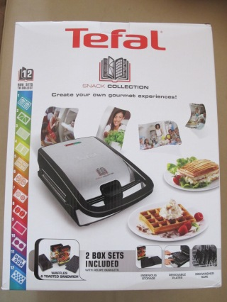 Mon gaufrier multifonction tefal snack collection ma beaut acidul e - Gaufrier tefal snack collection ...