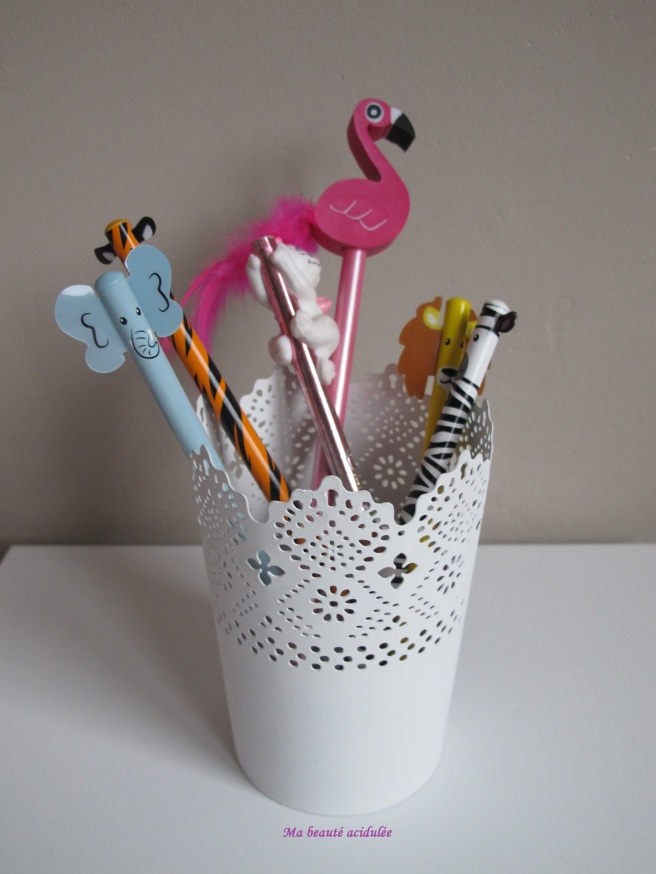 pot + crayon