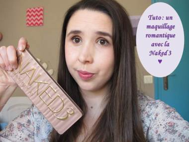 Miniature tuto maquillage romantique naked 3