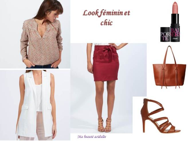 Look féminin chic Etam