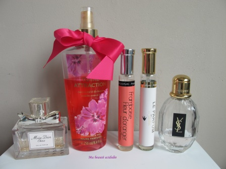 mes parfums préférés