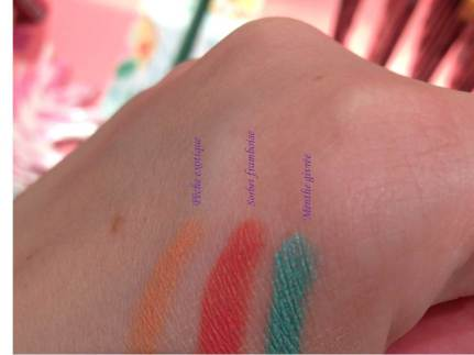 Swatch crayons