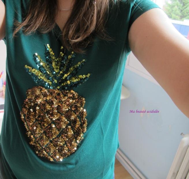 tshirt ananas
