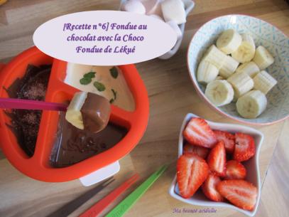 Miniature vidéo fondue au chocolat chocofondue lékué