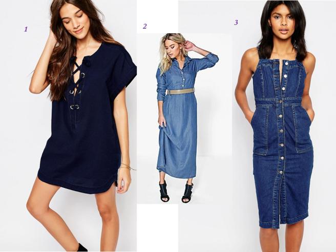 robes en jean quelle longueur choisir tendance printemps été 2016
