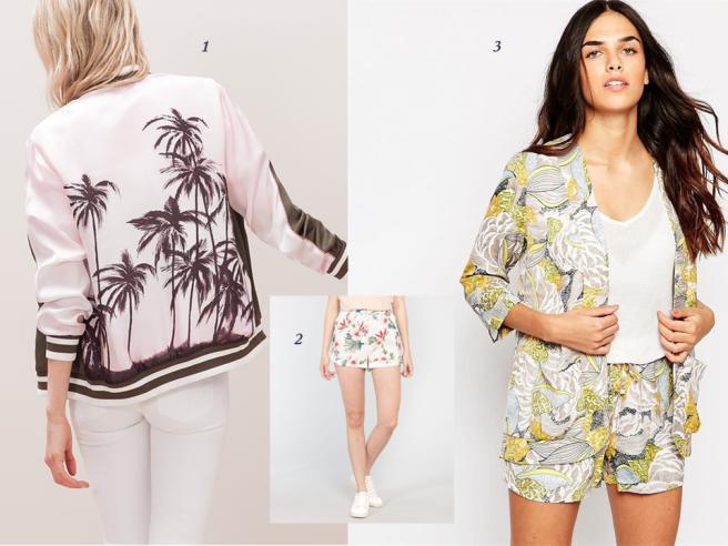vêtements tendance tropical exotique palmier fleur feuillage été mode 3