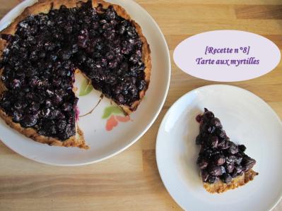 Miniature vidéo recette tarte aux myrtilles
