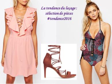 pièces tendance vêtements lacets laçage mode 2016