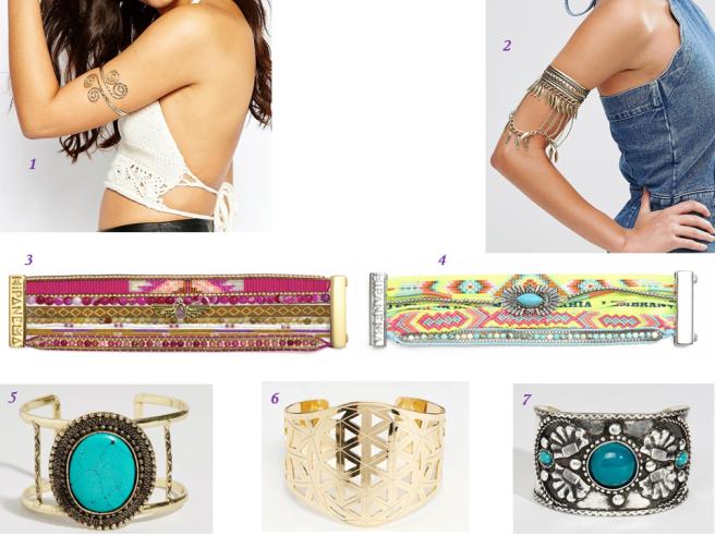bijoux tendance été mode bracelets