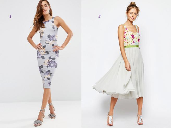 robe fleurie grande et mince tendance mode été morphologie silhouette