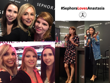 sephoralovesanastasia ABH lancement france sandrea sanaa babillages sephora