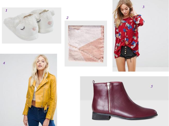 sélection automne mode accessoires