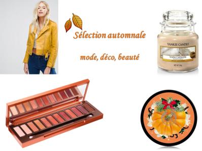 sélection automne mode beauté déco