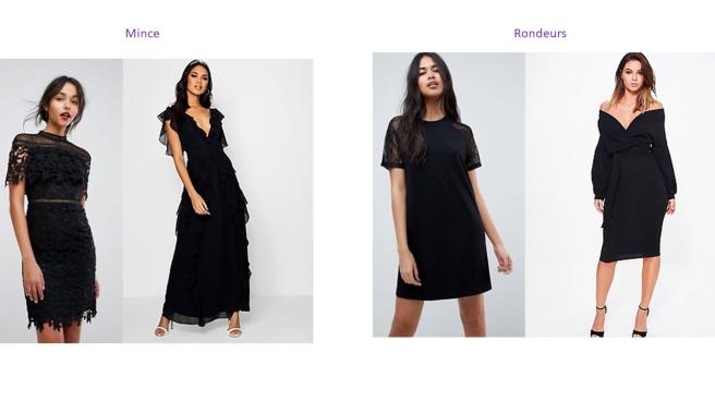 comment choisir sa petite robe noire conseil mince ou rondeurs