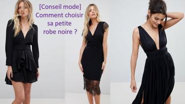 comment choisir sa petite robe noire conseil miniature