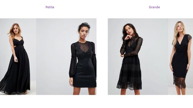 comment choisir sa petite robe noire conseil petite grande