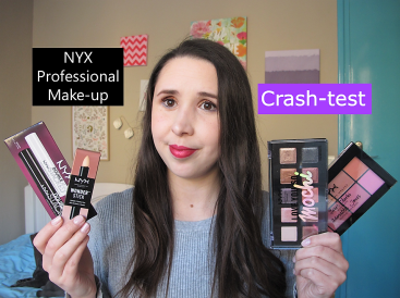 Miniature vidéo crash test make up 100% Nyx carré