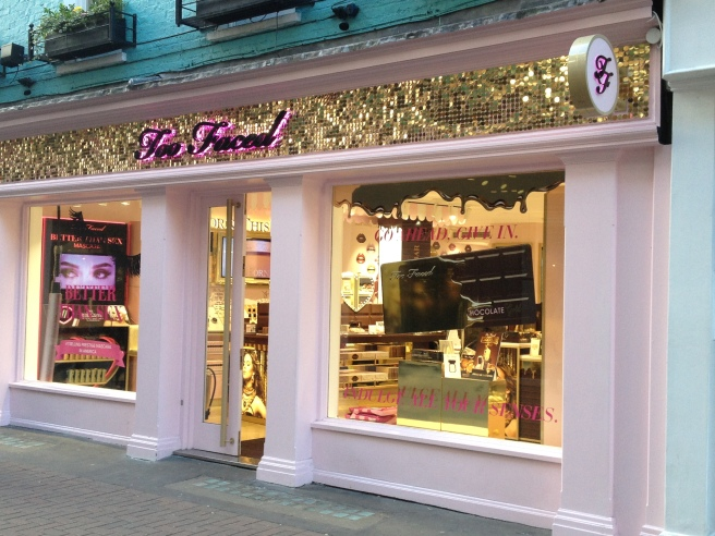 too faced boutique londres