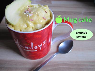Miniature vidéo recette mug cake pomme amande carré