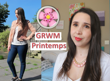 Miniature GRWM printemps 2