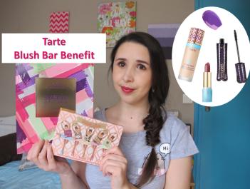 Miniature vidéo premières impressions nouveautés blush bar tarte carré