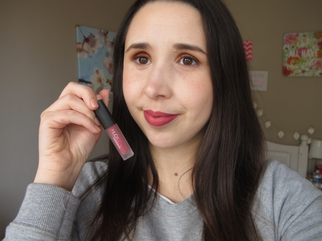 trophy wife huda beauty lip swatch