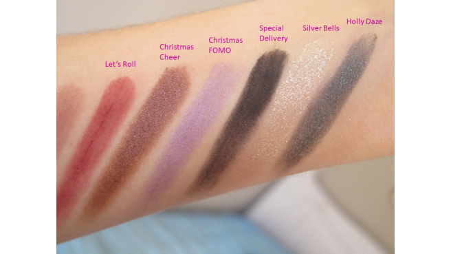 Swatch palette Dream Queen Too Faced coffret 4